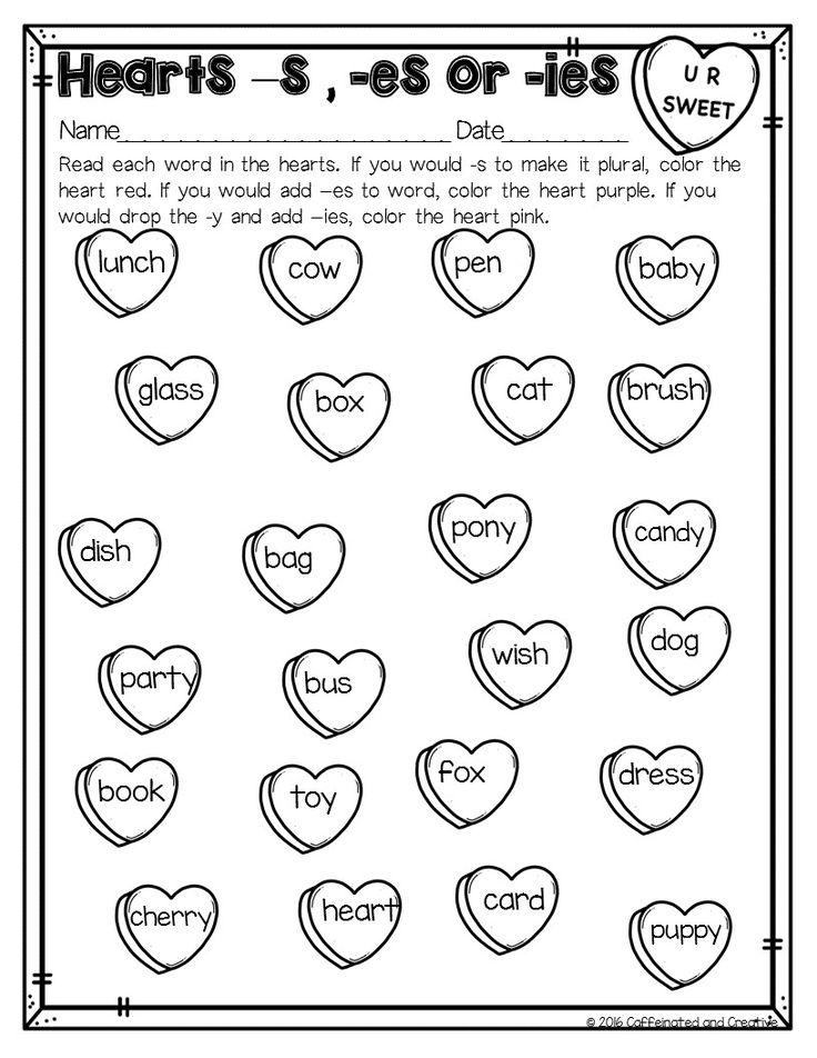 4307 best Valentine's Day Language Arts Ideas images on