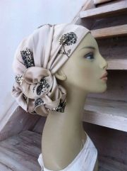 beautiful tichel scarf style