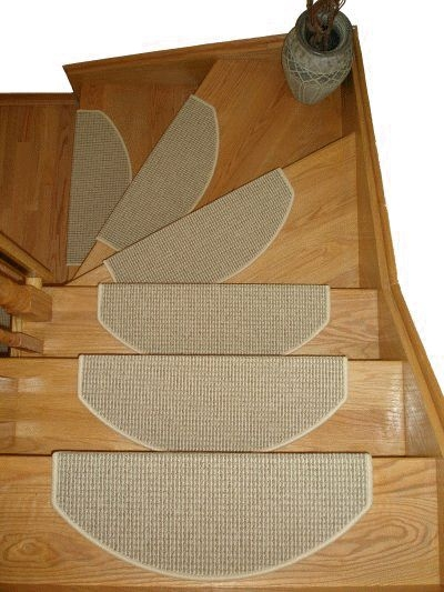 69 Best Images About Stair Treads On Pinterest   Half Moon Stair Carpet