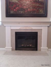 1000+ ideas about Gas Fireplace Mantel on Pinterest   Gas ...