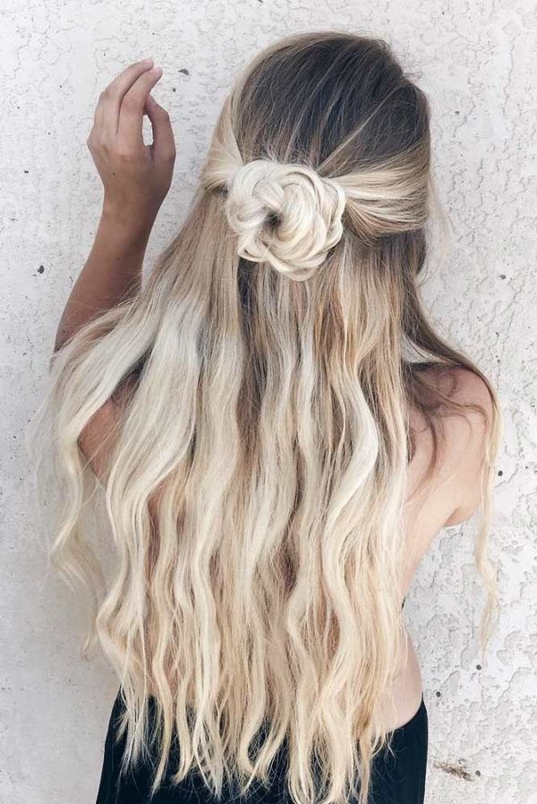 30 Cute Down Hairstyles For Homecoming Girls Hairstyles Ideas
