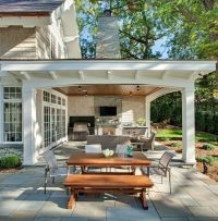Outdoor Patios Patio Contemporary Covered. Outdoor Covered ...