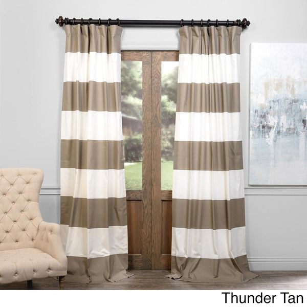 17 Best ideas about Horizontal Striped Curtains on