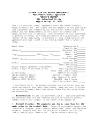 House Lease Agreement Template | House Rental Agreement ...