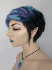 purple and blue short alternative