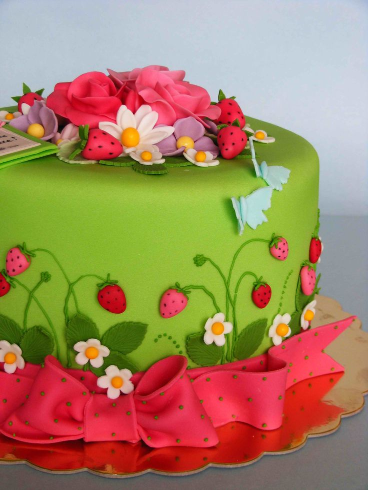 17 Best Ideas About Garden Theme Cake On Pinterest Garden