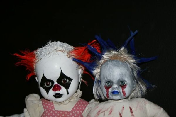 diy halloween props evil clown babies simple diy buy