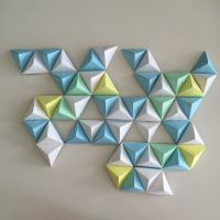 25+ best ideas about Origami wall art on Pinterest ...