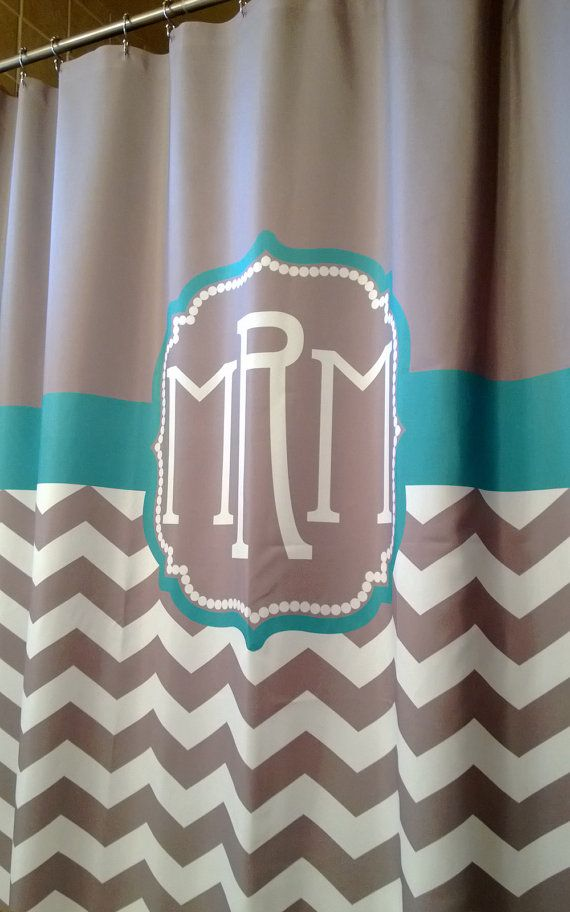 Best 25 Monogram shower curtains ideas on Pinterest  Shower curtain with valance Pretty