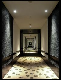 Corridor hotel hallway lighting architecture. I love ...