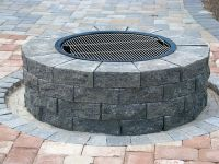 Do-It-Yourself Firepit Installation Instructions and Grill ...