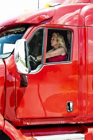 21 best images about Lady Truckers on Pinterest Semi