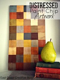 Best 20+ Paint Chip Wall ideas on Pinterest | Paint sample ...