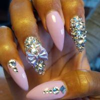 Nails With Diamonds Designs | www.imgkid.com - The Image ...