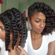 chunky twist- wedding hair