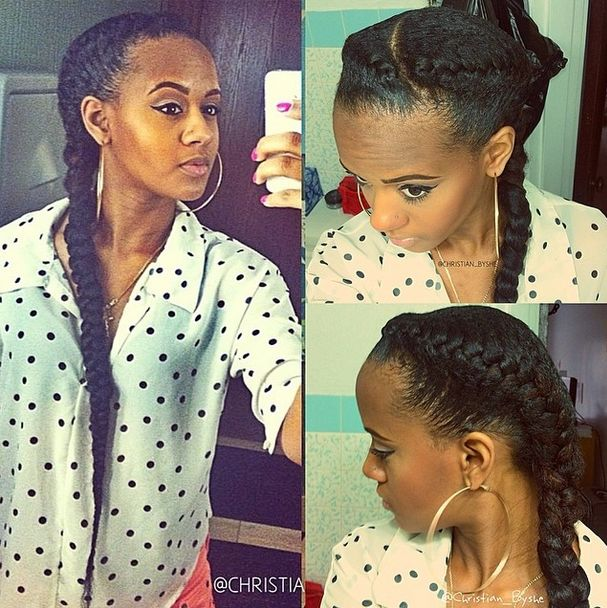 17 Best Images About French Braid With Extensions On Pinterest