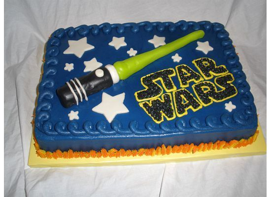 Star Wars Sheet Cake Got This Idea After Looking At