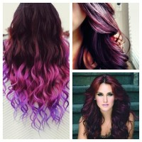 Plum hair, Plum hair colors and Burgundy on Pinterest