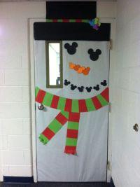 Christmas Snowman Classroom Door Decorations   www.imgkid ...