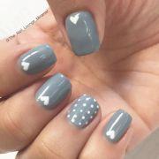 1000 ideas gray nails