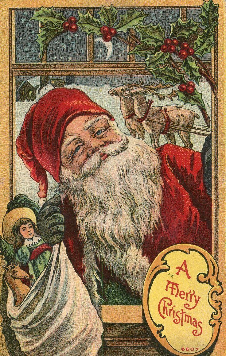 17 Best Images About Vintage Santas On Pinterest Antique