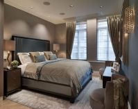 Charcoal/gray bedroom. Classy. | For the Home | Pinterest ...