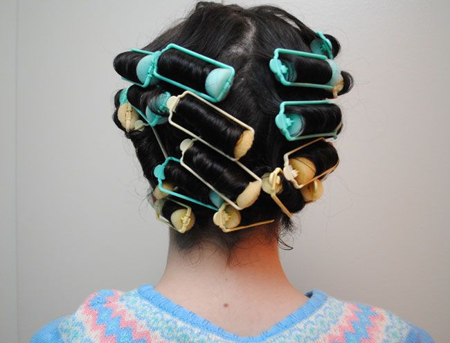 How I Do A Late 30searly 40s Sponge Roller Set And Avoid