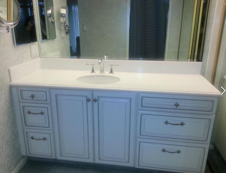 kitchen valance ideas cabinets for sale craigslist starmark white with nickel glaze on the augusta door style ...