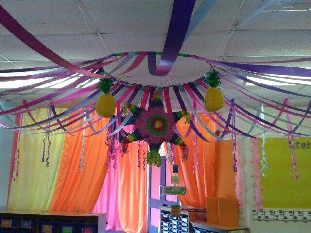 Tent ceiling decoration!
