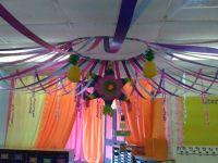 Tent ceiling decoration! | Classroom theme | Pinterest ...
