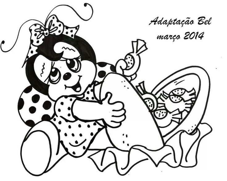 952 best images about Joaninhas & Abelhinhas on Pinterest
