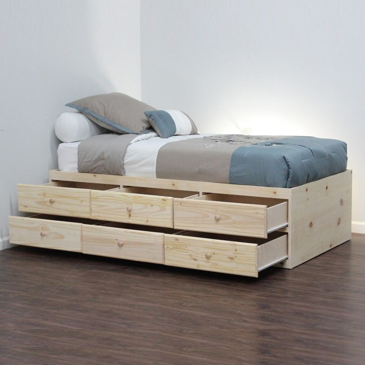1000+ ideas about Bed Without Headboard on Pinterest