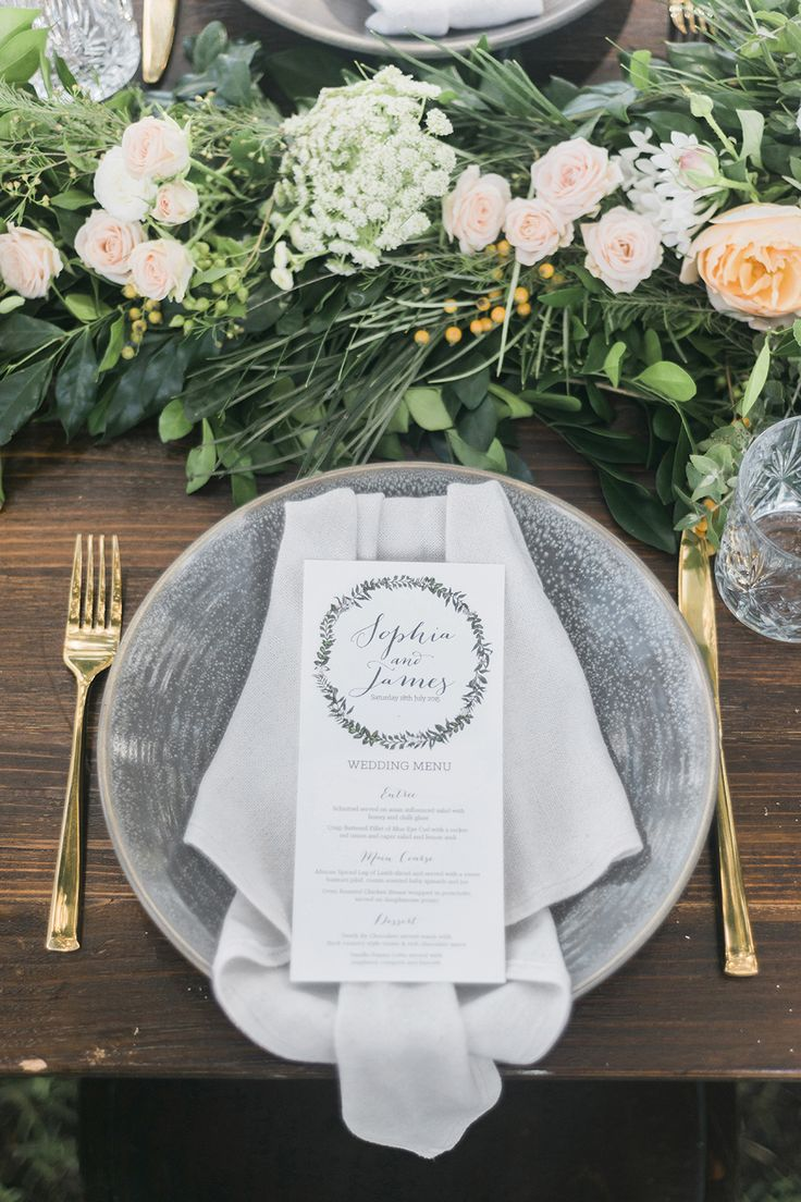 17 Best ideas about Place Settings on Pinterest