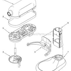 Kitchenaid Professional 600 Parts Diagram 2000 Honda Civic Ac Wiring 17 Best Images About Appliance Repair On Pinterest | Stand Mixer, Blenders And ...