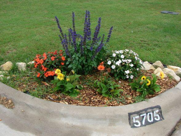 front yard corner landscaping ideas