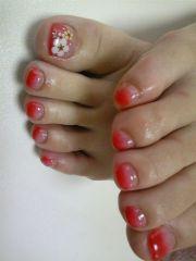 ideas white toenail