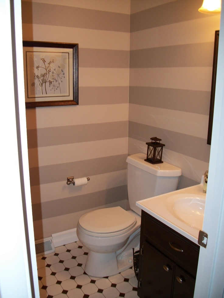 17 Best ideas about Small Guest Bathrooms on Pinterest