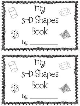 78 Best images about Kindergarten--Math--3-D Shapes on