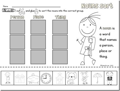 Best 20+ Nouns kindergarten ideas on Pinterest