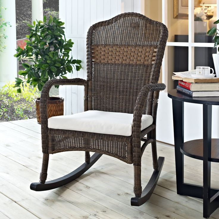 25 best ideas about Wicker rocking chair on Pinterest