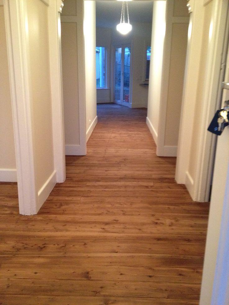 Walnut stain pine floor boards  floors  Pinterest