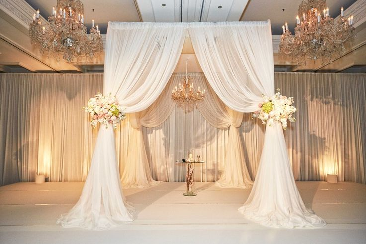 1000+ Ideas About Indoor Wedding Arches On Pinterest