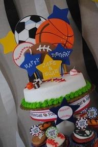 Boys Birthday Party – Sports Theme