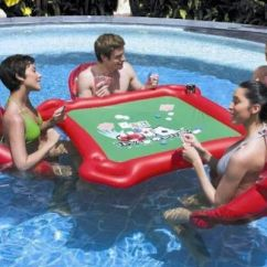 Inflatable Water Chairs For Adults Sleeping In A Chair Floating Card Table! | Awesome!!!!! Pinterest Tables, Cards And Tables
