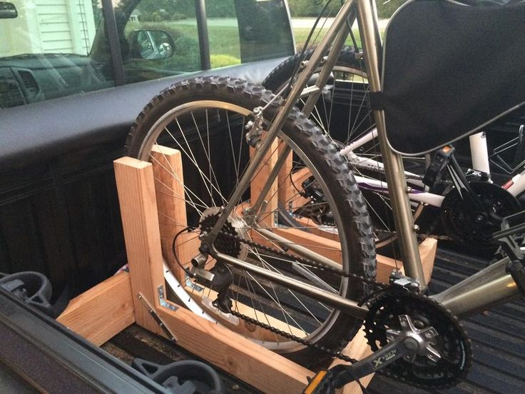 25+ best ideas about Truck Bed Bike Rack on Pinterest