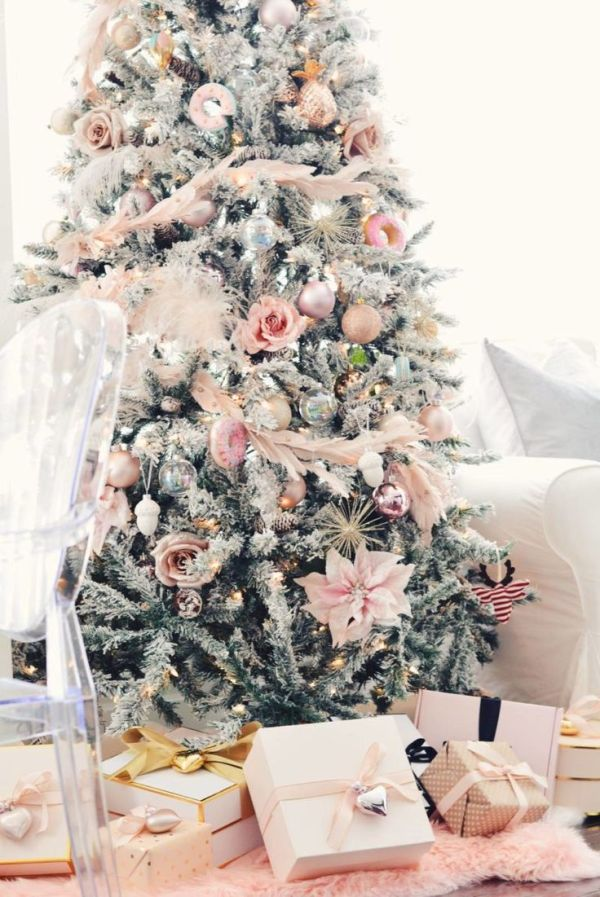 Best 25 Pink Christmas Decorations ideas on Pinterest