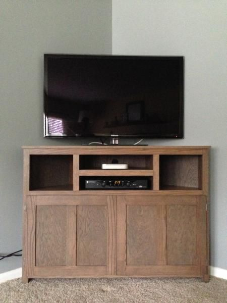Plans Build Corner Tv Stand WoodWorking Projects Amp Plans