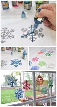 1000+ ideas about Window Clings on Pinterest | Christmas ...