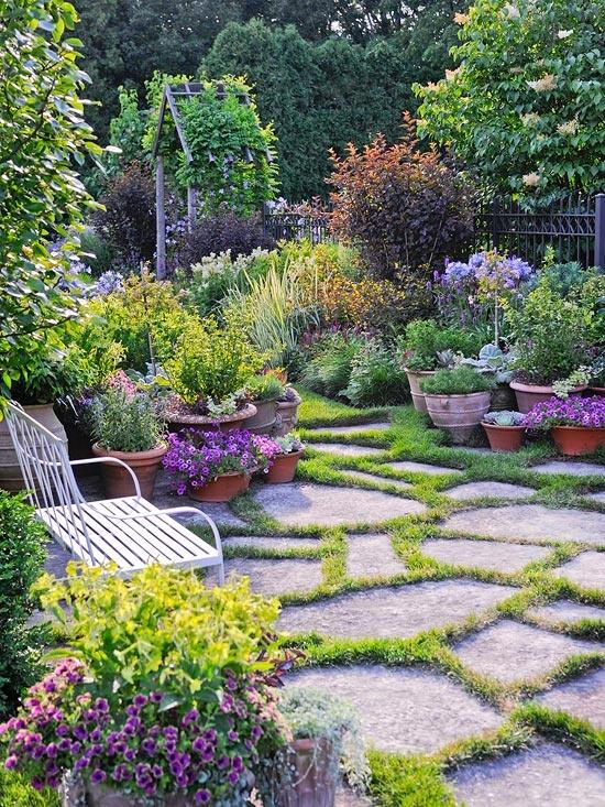 informal garden