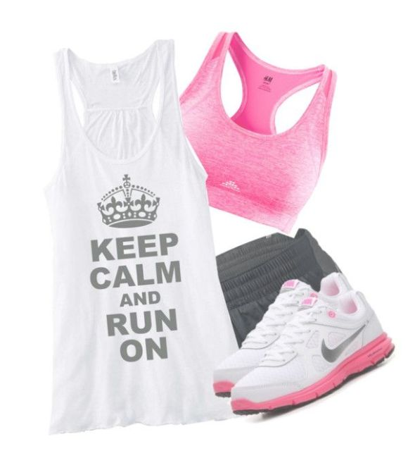 """""""time for a jog c:"""" by perrie-edwards-anonxxxx ❤ liked on Polyvore"""